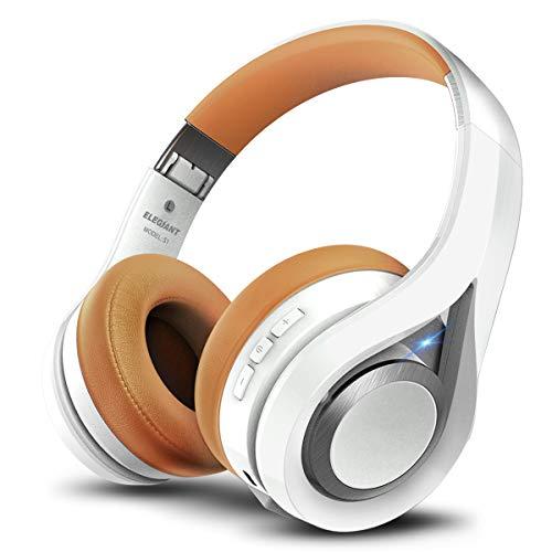 ELEGIANT Cascos Bluetooth 5.0 Inalámbricos, Auriculares Bluetooth Diadema con Micrófono CVC 6.0 Cancelación Ruido...