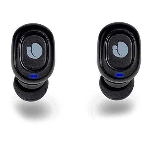 NGS ARTICA Lodge- Auriculares Intrauditivos Compatibles con Bluetooth 5.0, Tecnología True Wireless, Batería de 45...