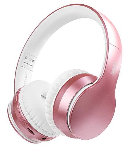 LOBKIN Auriculares Bluetooth 5.0 inalambricos de Diadema Cascos Plegables, Casco Bluetooth con Sonido Estéreo Micro...