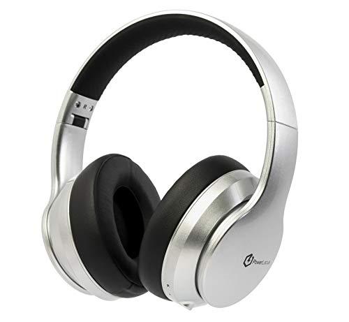 PowerLocus Auriculares Inalámbricos Diadema, Cascos Bluetooth con Micrófono Incorporado, Hi-Fi Sonido Estéreo Super...