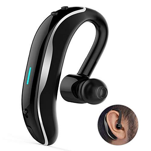 Auriculares intraurales Bluetooth para Huawei P9 Smartphone inalámbricos Sonido Mano Libre Business (Gris)