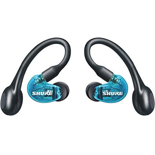 SHURE AONIC 215 - Auriculares inalámbricos, True Wireless Earbuds, bajos profundos, Bluetooth 5, sobre la oreja,...