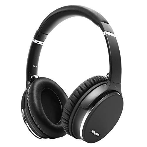 Plegable Auriculares Inalámbricos con Cancelación de Ruido Bluetooth 5.0,Srhythm NC35 ANC Over-Ear con Tipo-C Carga...