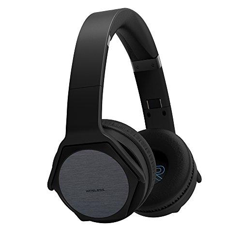VEENAX HS3 Auriculares Bluetooth Over-Ear Altavoz Portátil, Cascos Inalámbricos Deportivos & Altavoz en uno,...
