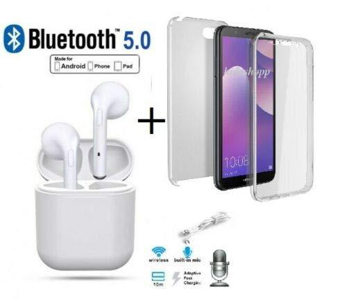 Hidashopp - Auriculares Bluetooth inalámbricos para Samsung A5 2016 A5 2017 A3 2016 A3 2017 2017 Bluetooth + Carcasa...