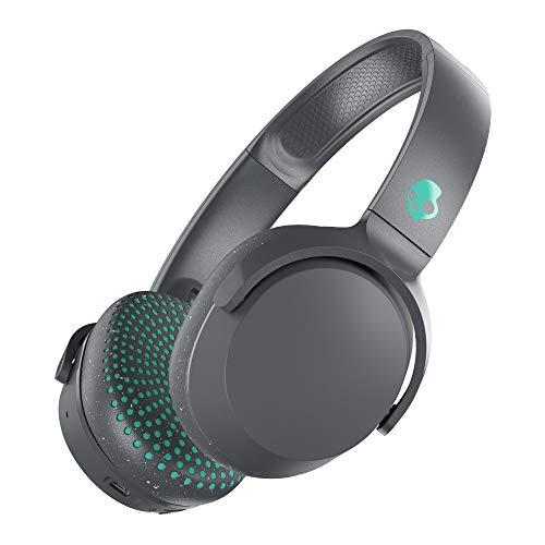 Skullcandy Riff Supraaurales Auriculares con Micrófono, Bluetooth Inalámbricos, Batería con 12 Horas de Duración,...