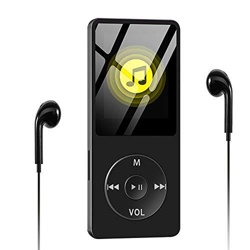Wodgreat Reproductor MP3, Reproductor de Música MP4 Reproductor de HiFi Lossless Sound, Pantalla de Color de 1.8...