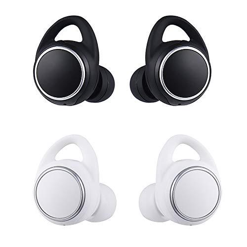 R-Cors Auriculares inalámbricos inalámbricos en la Oreja con Auriculares para Samsung Gear iConX SM-R (Plata)