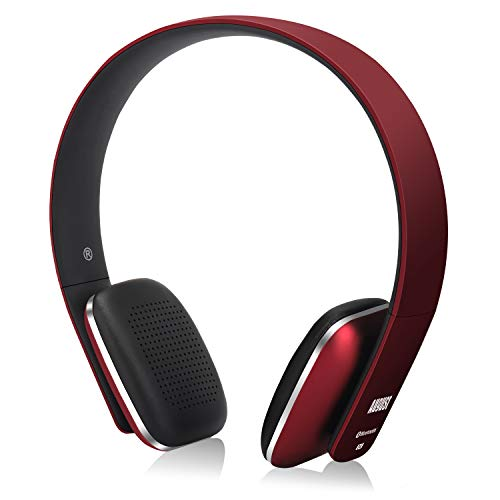 August EP636 - Auriculares Bluetooth de Diadema Casco Inalámbrico NFC con Micrófono Manos Libres para Teléfonos,...