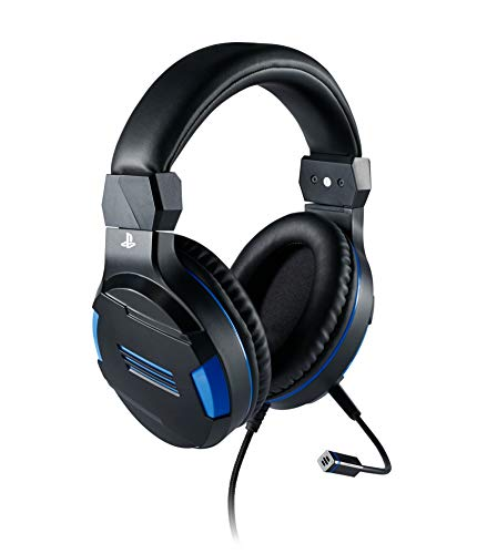 Auriculares Gaming Stereo Sony Oficial PS4 Bigben Interactive - Compatible con PS5