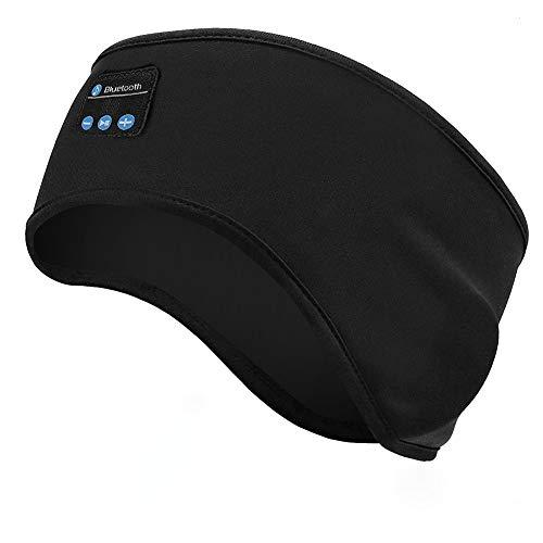 Linkax Auriculares para Dormir, Bluetooth V5.0 Deportes Diadema,Deportiva Banda Auriculares con Ultrafinos HD Estéreo...