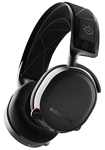 SteelSeries Arctis 7 Auriculares De Juego, Inalámbricos Sin Pérdidas, Dts Headphone: X V2.0 Surround Para PC,...