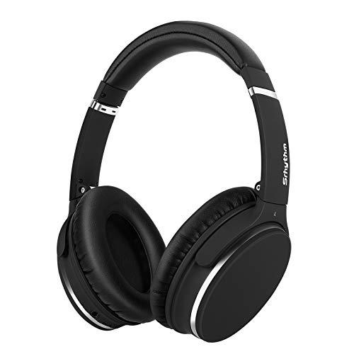 Auriculares de Diadema Estéreo Inalámbricos con Cancelación de Ruido Bluetooth 5.0.Srhythm NC25 (2020) ANC Headhpones...