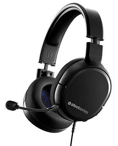 SteelSeries Arctis 1 para PlayStation - Auriculares Gaming - Compatibilidad con Todas las Plataformas - Para PS5, PS4,...