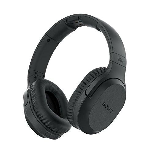 Sony MDR-RF895RK Auriculares Inalámbricos (Cancelación de Ruido, Transmisión por Radiofrecuencia, 20 horas de...