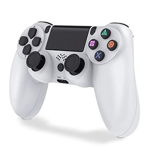 Mando para PS4, VINSIC Mando PS4 Inalambrico - Gamepad para PS4/ PS4 Pro/ PS4 Slim/ PC/ Laptop con Conector para...