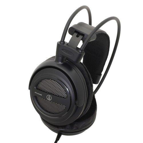 Audio-Technica SonicPro Home Studio - Auriculares Abiertos sobre Oreja, Color Negro