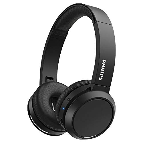 Philips H4205BK/00 Auriculares inalámbricos Bluetooth, On Ear (Bass Boost, 29 Horas de autonomía, Función de Carga...