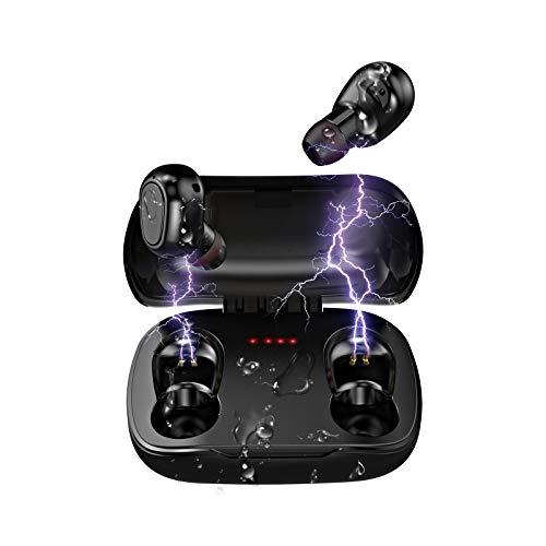 Auriculares Inalambricos Bluetooth | LESHP Auriculares Bluetooth con Audio de Alta Fidelidad y Llamadas de Alta...