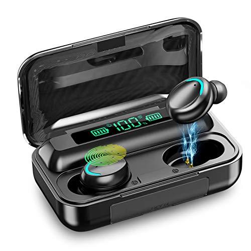 Auriculares inalámbricos Bluetooth 5.0 con reducción de Ruido, Auriculares Deportivos con IPX7, Auriculares estéreo...