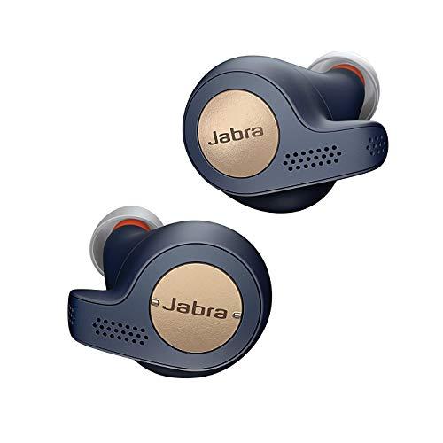 Jabra Elite Active 65t, Auriculares Deportivos Bluetooth con Cancelación Pasiva de Ruido y Sensor de Movimiento,...