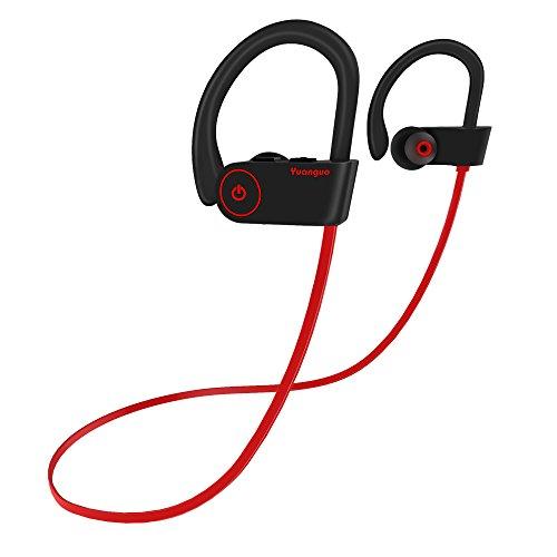 Auriculares Bluetooth 4.2 Inalambricos Yuanguo Cascos Deportivos In Ear Sonido Estéreo con Micrófono y Cancelación de...