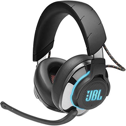 JBL Quantum 800 Auriculares inalámbricos para gamers con micrófono y RGB, Bluetooth, cancelación de ruido, compatible...