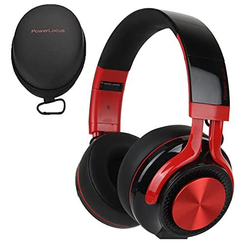 PowerLocus Bluetooth Auriculares Diadema P3,[Bluetooth 5.0,40h de música] Cascos Bluetooth Inalámbrico Plegable Casco...