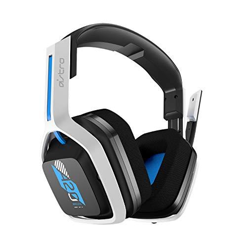 ASTRO Gaming A20 Auriculares inalámbricos Gen 2, ligeros y resistentes, Micrófono volteable para silenciar, Batería...