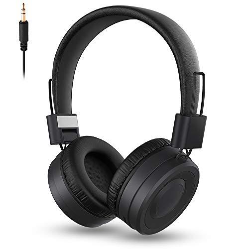 MISSJJ Auriculares Inalámbricos Bluetooth Diadema, Cascos Inalámbricos con Micrófono Incorporado, Graves Profundos...
