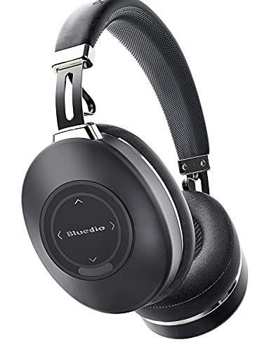 Auriculares Diadema Bluetooth, Bluedio H2 Auriculares con Cancelación Activa de Ruido, 57mm Controlador Profundo HiFi...