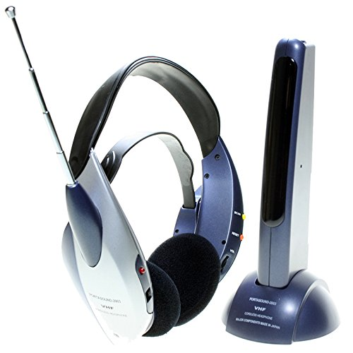 Auricular Inalámbrico por Radiofrecuencia Especial para Televisor