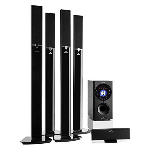 auna Areal 653 - Home Cinema 5.1 inalámbrico, Sistema Sonido Surround, Concept 620 Envolvente, Rendimiento 145W RMS,...