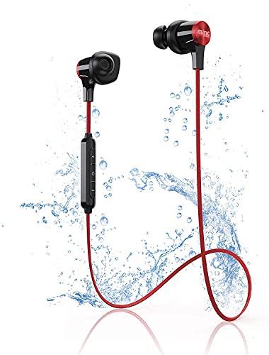 Auriculares Bluetooth, Auriculares Deportivos Inalámbricos IPX7 a Prueba de Agua, Auriculares Internos con Micrófono...