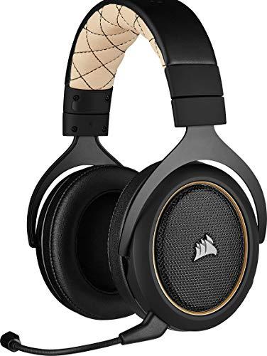 Corsair HS70 PRO Wireless - Auriculares para juegos, hasta 12 metros de alcance inalámbrico, compatibles con PC y PS4,...