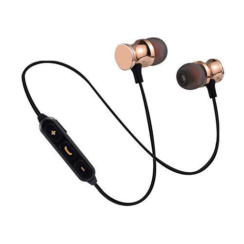 Auriculares Bluetooth de Metal para Meizu Pro 7 Smartphone inalámbricos con Mando a Distancia, Sonido Manos Libres y...
