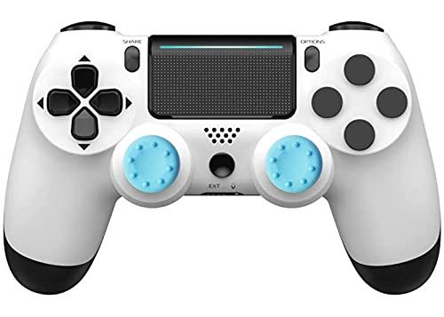 Mando para PS4, Inalámbrico Controlador de Juegos con vibración Dual Joystick/Panel táctil/Conector para...