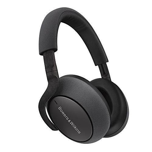 Bowers & Wilkins PX7 Auriculares Circumaurales Bluetooth con Cancelación Adaptativa de Ruido - Gris (Space Grey)