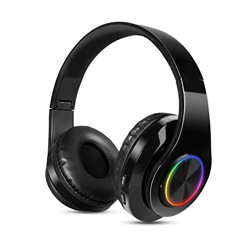 Cascos Diadema Inalámbricos Bluetooth,Sendowtek Cascos Bluetooth Inalámbrico,Auriculares estéreo de Alta fidelidad...