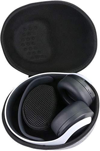 Aenllosi Estuche Duro Compatible con Playstation 5 Pulse 3D Auriculares inalámbricos (Gris)