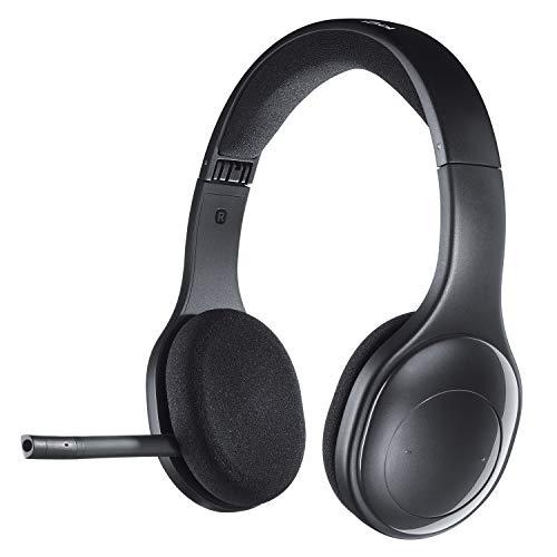 Logitech H800 Auriculares Inalámbricos Bluetooth, Sonido Estéreo de Alta Definición y Micrófono con Supresión de...