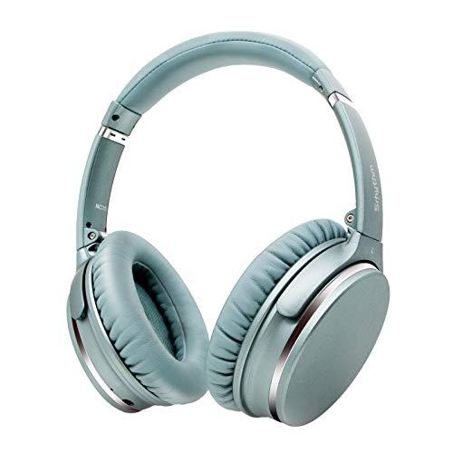 Auriculares de Diadema Inalámbricos con Cancelación de Ruido Bluetooth 5.0.Srhythm NC25 (2020) ANC Headhpones con 50H...