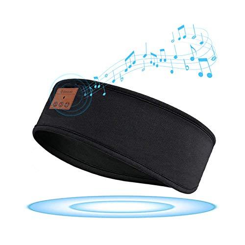 GeekerChip Auriculares para Dormir,Bluetooth V5.0 Deportes Diadema,Sleepphones inalámbricos con Ultrafinos HD Estéreo...