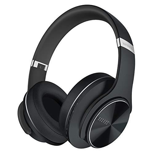 DOQAUS Auriculares Inalámbricos Diadema,52 Hrs de Reproducción Auriculares Bluetooth con 3 Modos EQ y Hi-Fi...