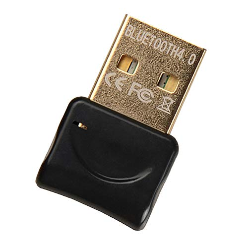 Adaptador Bluetooth para PC, USB 4.0 Bluetooth Dongle Transmisor Receptor Inalámbrico para Auriculares Altavoz Teclado...