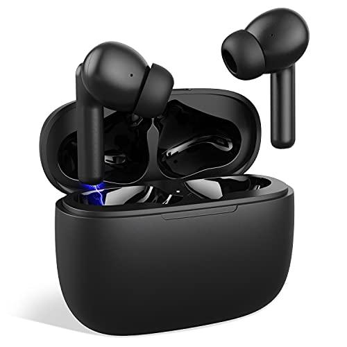 Auriculares Inalámbricos Bluetooth Audífonos Inalámbricos Bluetooth 5.1 IPX6 Impermeable con Micrófono Incorporado...