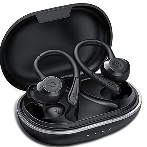 Muzili Auriculares Bluetooth Deportivos V5.0 IPX7 Impermeable Auriculares Bluetooth Inalambricos Movil 36H Tiempo de...