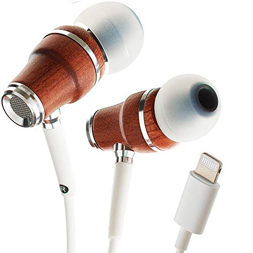 Auriculares NRG MFI Symphonized, Lightning Certificados Compatibles con iPhone/iPad/iPod, Auriculares de Botón de...