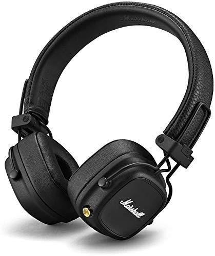 Marshall Major IV - Bluetooth Headphones Black
