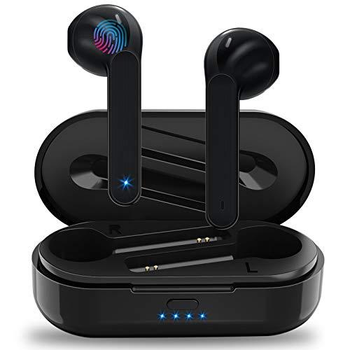 Auriculares Inalámbricos Soicear Auriculares Bluetooth 5.0 In Ear con Micrófono, HiFi Estéreo, IPX5 Impermeabile,...